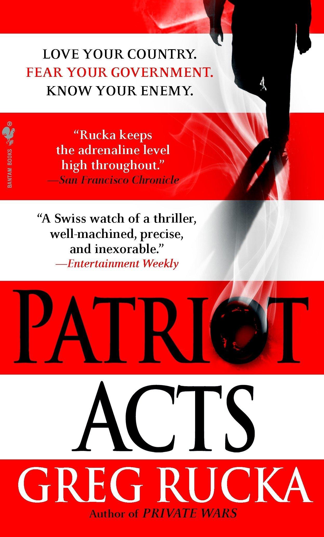 Patriot Acts (Atticus Kodiak): Greg Rucka: 9780553588996: Amazon.com: Books