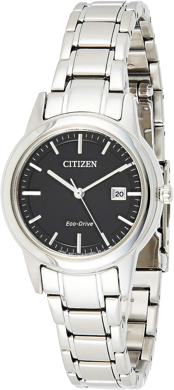 Citizen 32001314 eco-Drive - Reloj analógico de cuarzo para mujer, acero inoxidable