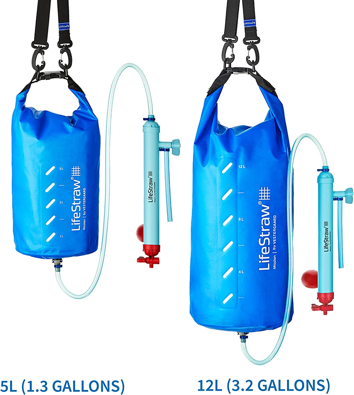 LifeStraw Mission Filtro de Agua, Unisex, Azul, 5 L: Amazon.es ...