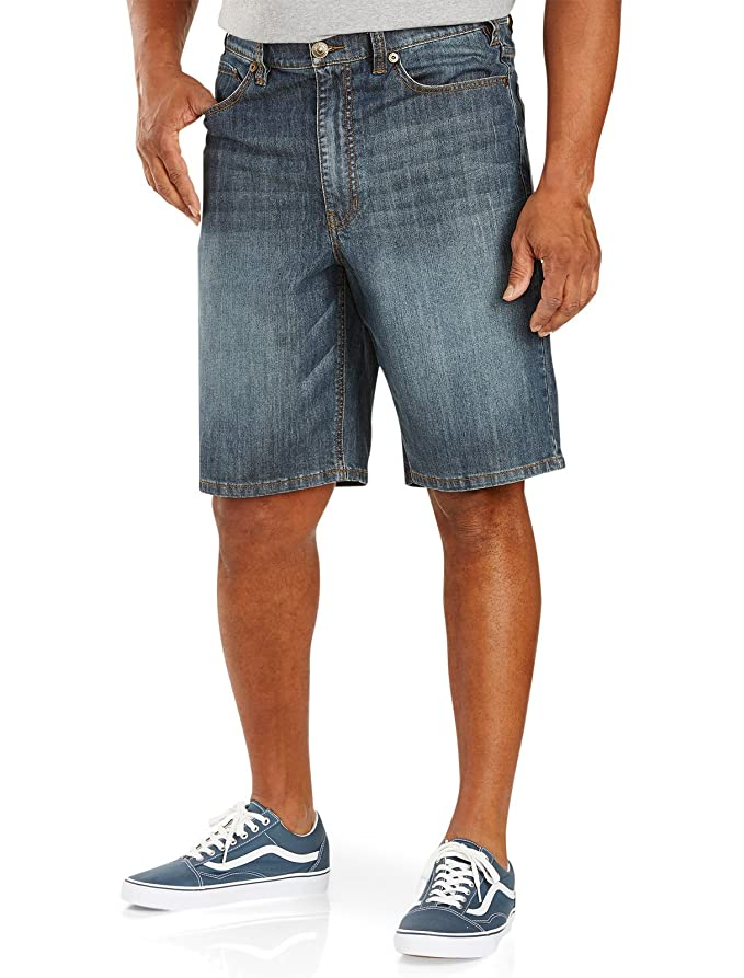 5f50e0f747a True Nation by DXL Big and Tall 5-Pocket Denim Shorts  3YKIg0300013 ...