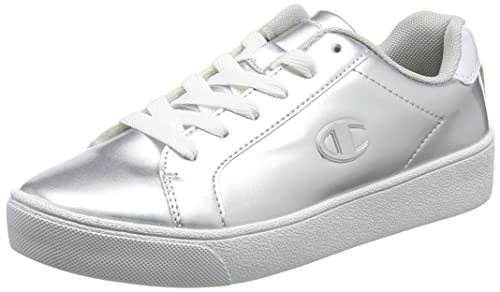 Champion Low Cut Shoe Alex Canvas, Sneakers Basses Femme, (White Ww001), 41 EU