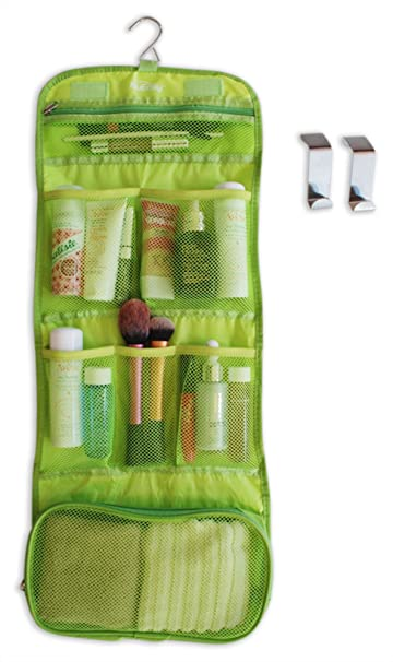 Charmant Amazon.com : Hanging Bathroom Organizer   Best Value Travel Bag For Women  And Men   Great For Travelers And For Home Storage   Green : Beauty