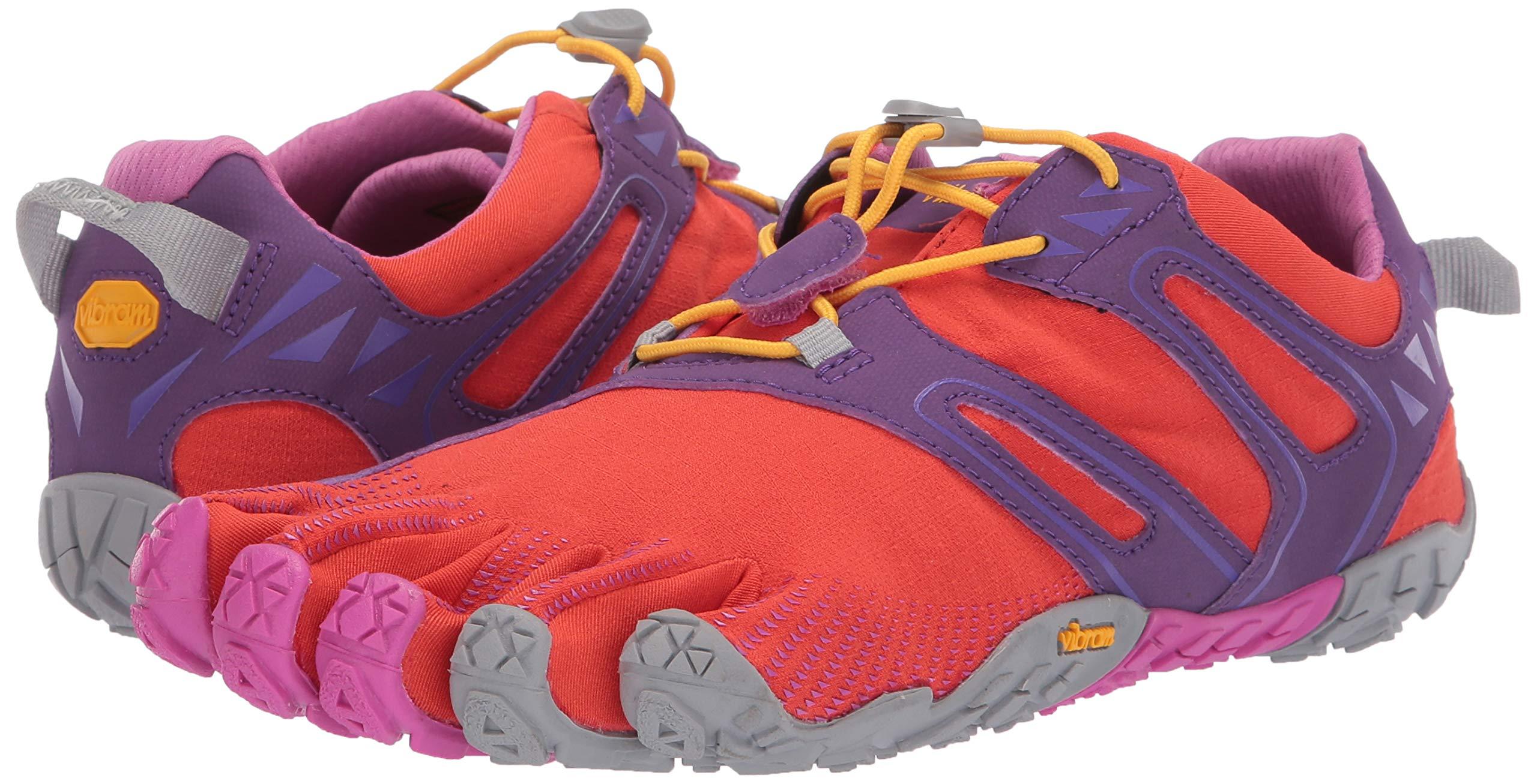 Vibram FiveFingers V-Trail, Women's Trail Running Shoes, Orange (Magenta/Orange), 6-6.5 UK (38 EU) by Vibram (Image #5)