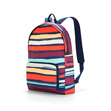 reisenthel Mini Maxi Rucksack, Foldable Travel Backpack with Built-in Carrying Pouch