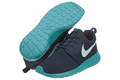Nike Roshe Run Squadron Blue Trainers (9 UK)  Amazon.co.uk  Shoes   Bags 561b86fdd2