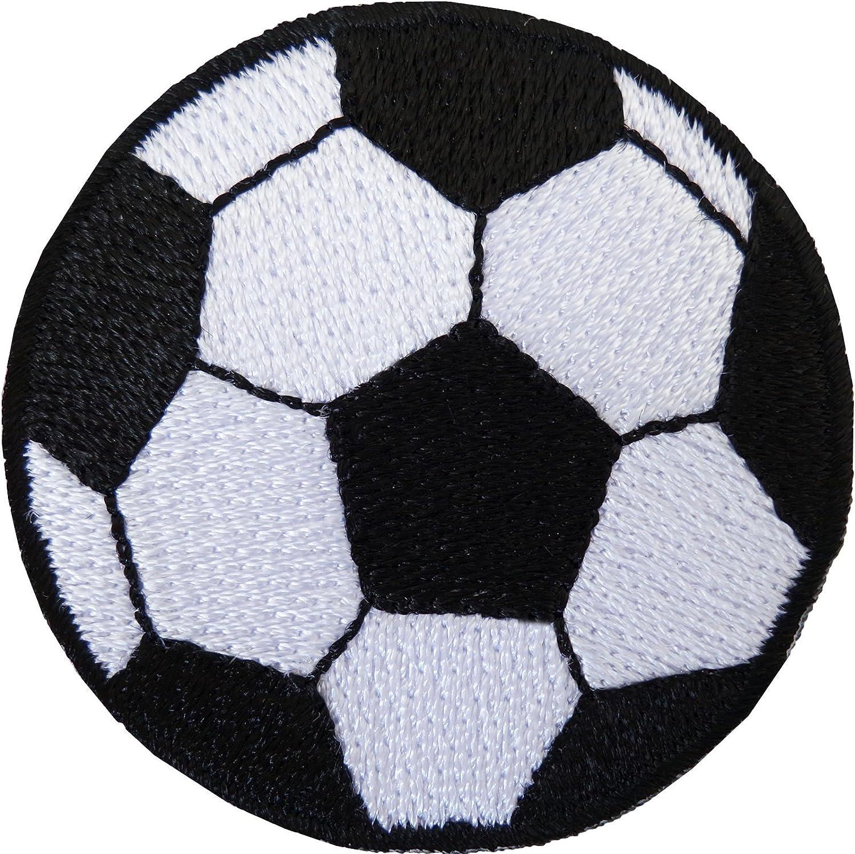 Fútbol parche bordado insignia de balón de fútbol hierro/sew en T ...