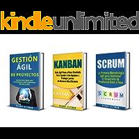 AGIL: 3 Libros - Gestion Ágil de Proyectos, Kanban, Scrum