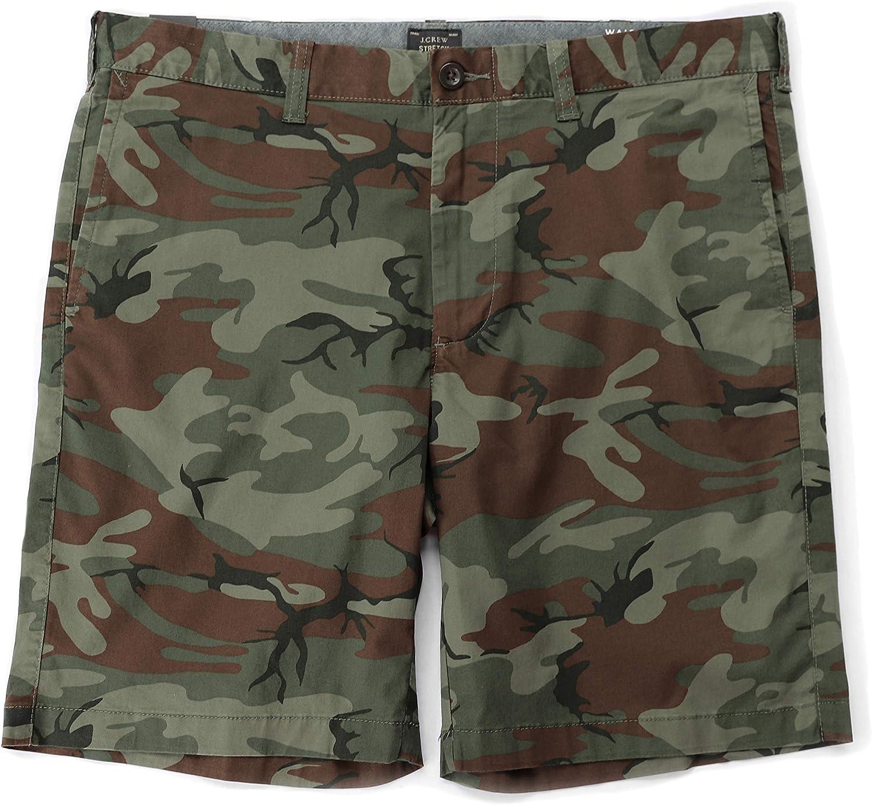 J.Crew Mens 9 Camo Cotton Stretch Shorts