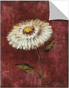 Silvia Vassileva ''Garden Flower II'' Removable Wall Art Mural, 14X18
