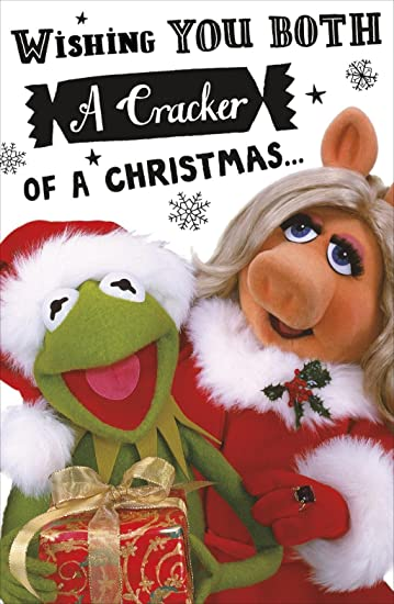 the muppets both of you christmas card disney couple greeting cards
