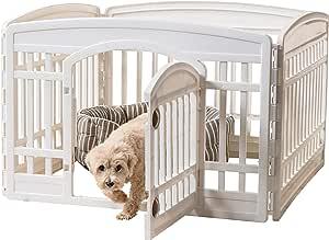 IRIS USA, Inc. Pet Playpen Exercise 24 Panel Door