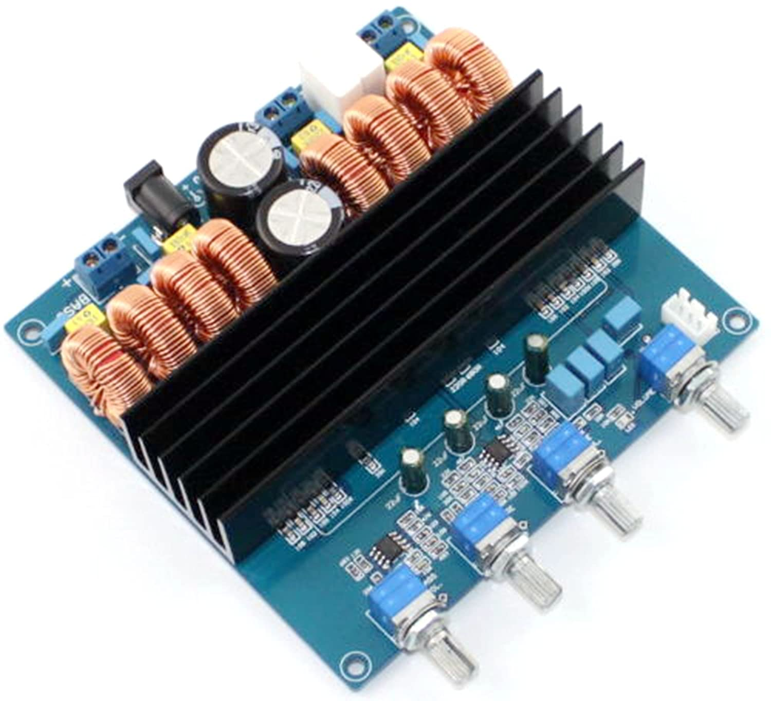 Amazon.com: TDA7498 2.1 Digital Amp Amplifier Board Class D 200W+100W+100W: Home Audio & Theater