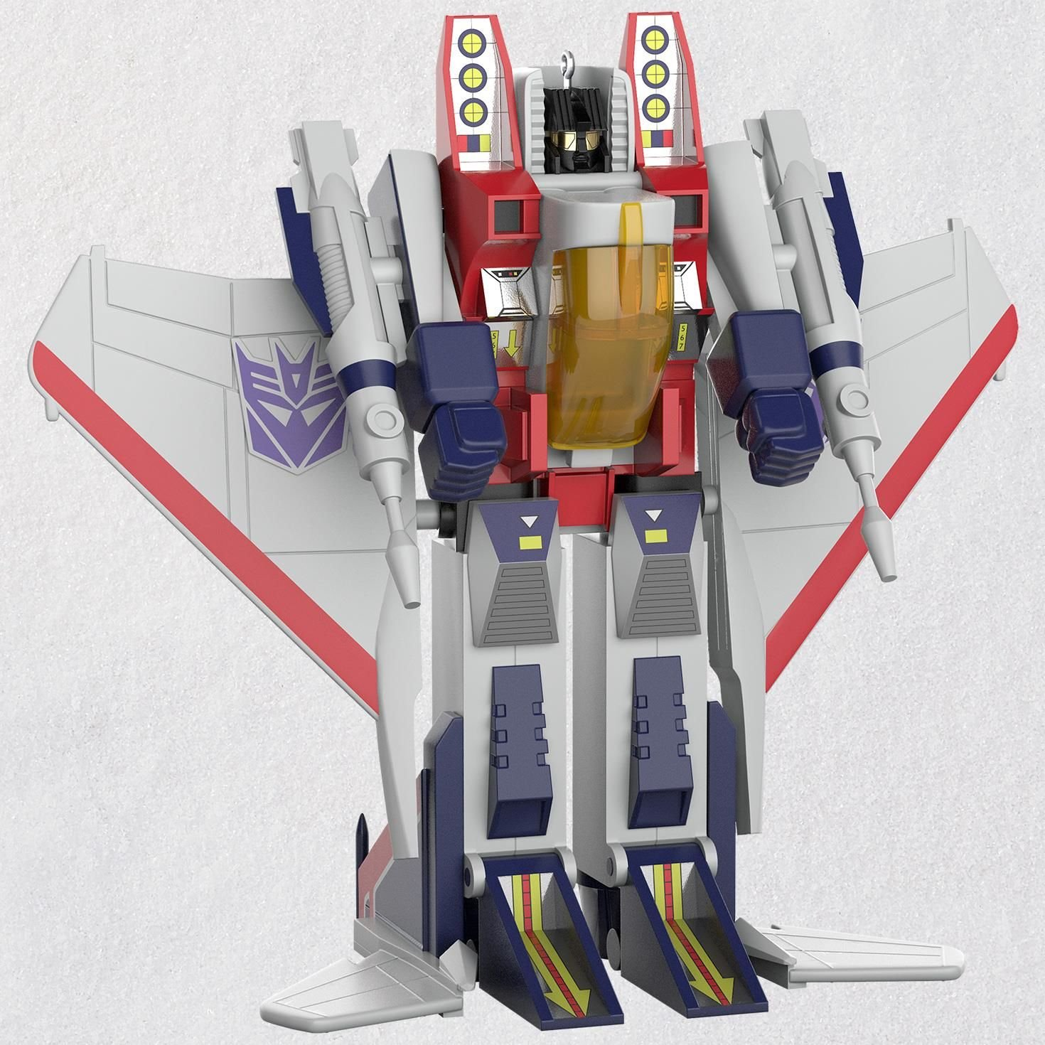 Hallmark Transformers Starscream Ornament keepsake-ornaments Toys & Gaming