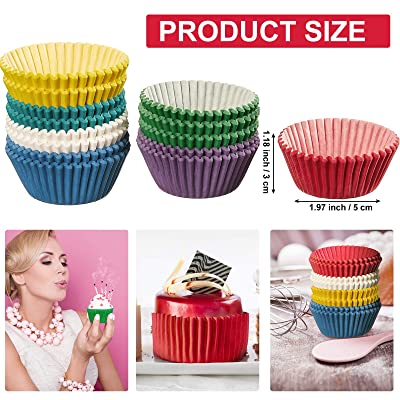 Party Supplies Cake Paper Cups Cupcake Wrappers Muffin Cases Baking Cup UK