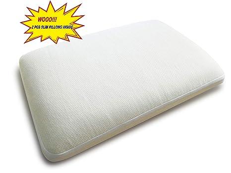 Sheepworld 2 in 1 Luxury Multifunctional Ultra Thin Slim 2x2.5 Inch Memory Foam