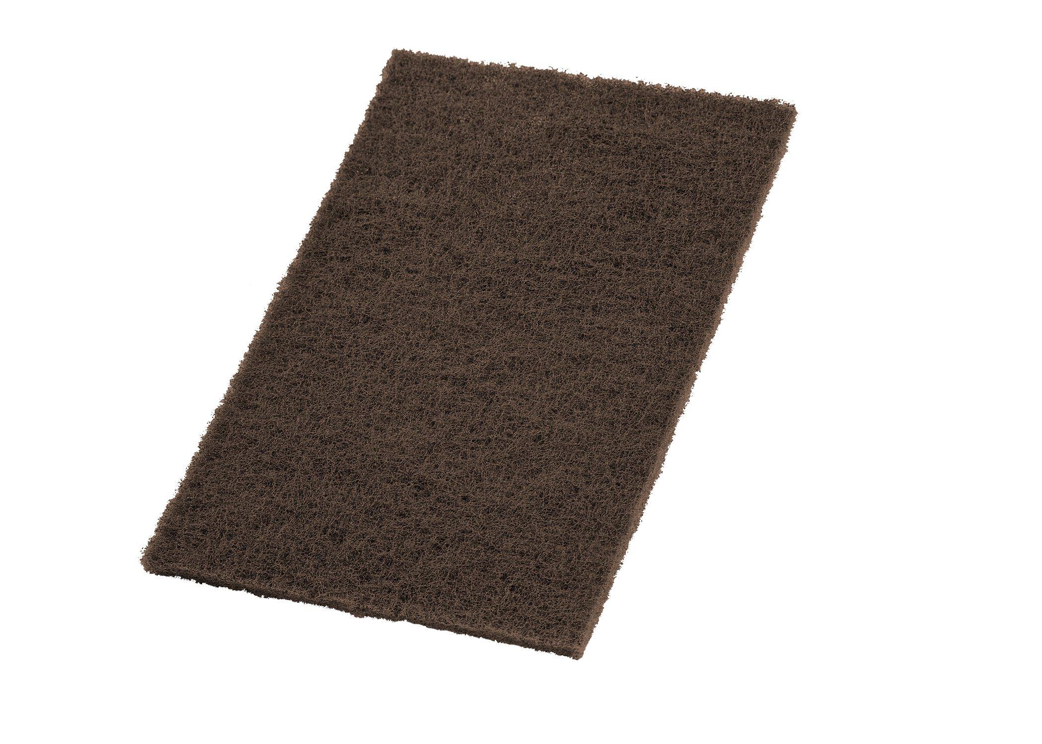 VSM Abrasive Hand Pad Hand Pad, 6'' x 9'', Tan, Coarse Grade, (Pack of 10) by VSM