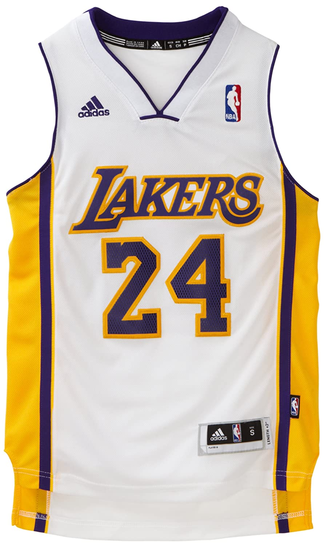 finest selection 4486b 003c3 NBA Los Angeles Lakers Kobe Bryant Swingman Jersey, White