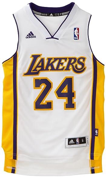 NBA Los Angeles Lakers Kobe Bryant Swingman Alternate Youth Jersey, White,  Small