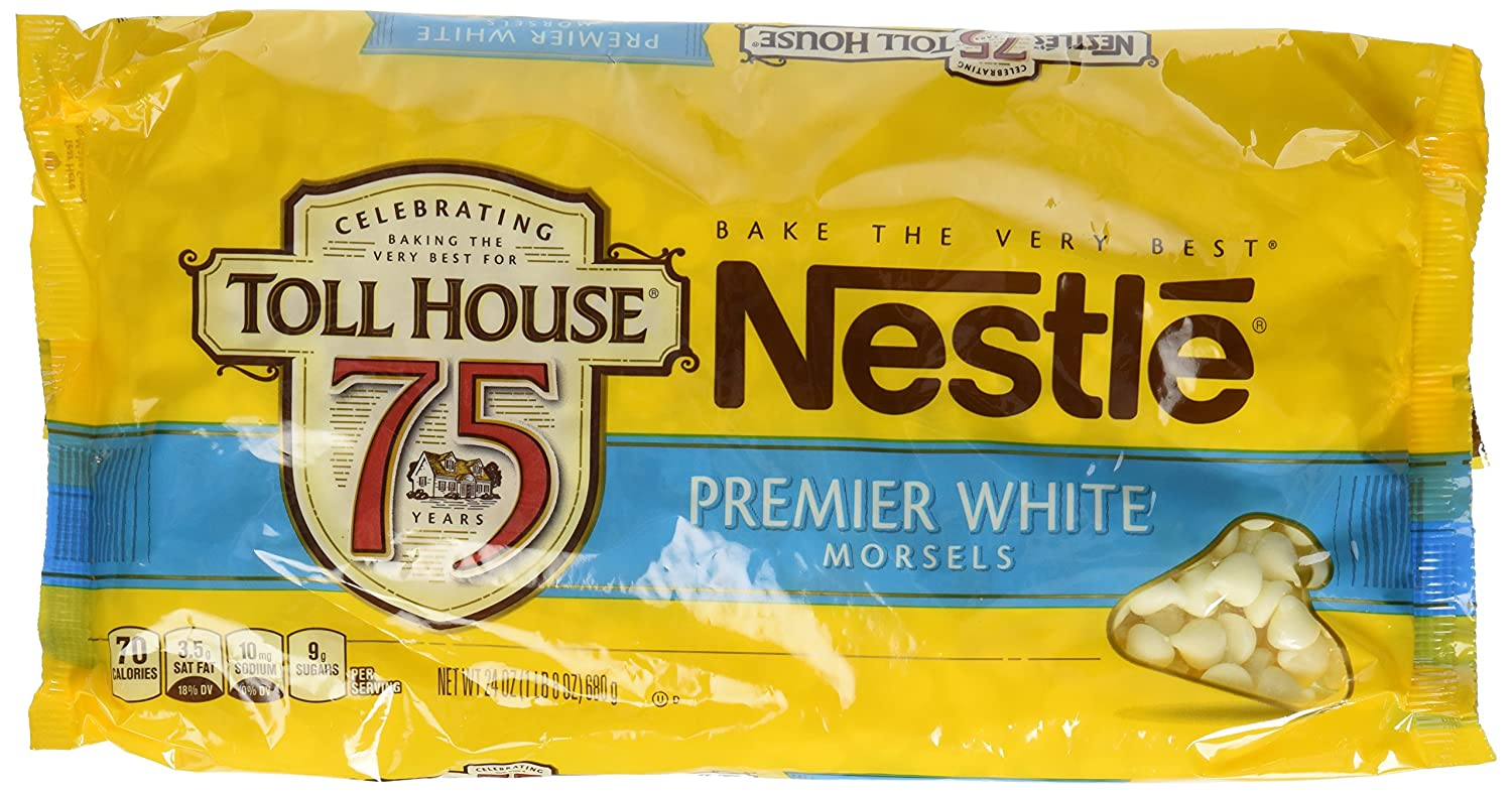 Amazon.com : Nestle Premier White Morsels, 24 Ounce : Chocolate ...