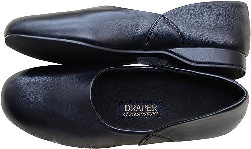Draper Charles Mens Leather Slippers