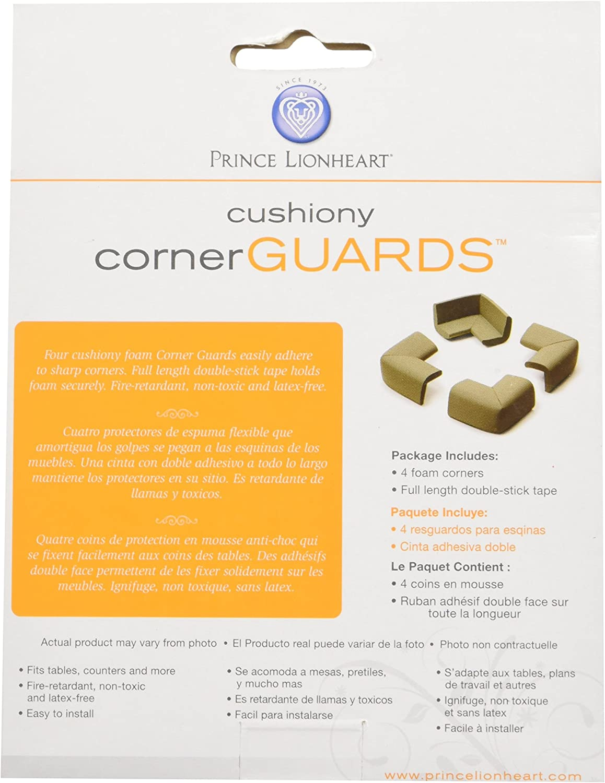 4 Coins Chocolat Prince Lionheart Rouleau de Mousse Antichoc
