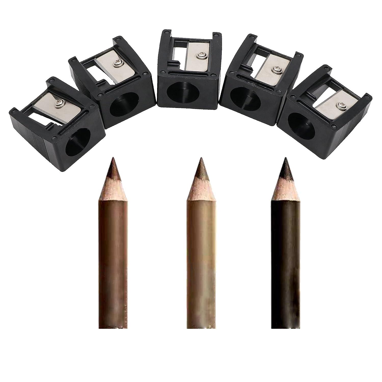 20 pezzi alla rinfusa manuale temperamatite professionale 16mm grande foro per il labbro grasso fodera del Eyeliner