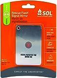 S.O.L. Survive Outdoors Longer Rescue Flash Mirror, 0140-1003