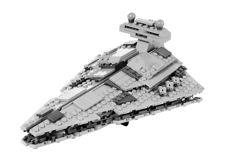 amazoncom lego star wars midi scale imperial star destroyer 8099 toys games