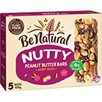 Be Natural Nut Butter Bars Berry Bliss, 135 Grams