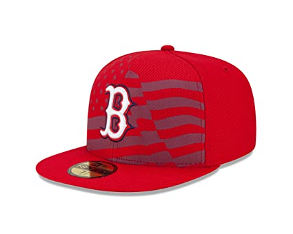 2da9daf29d0 MLB Boston Red Sox 2015 AC July 4th Stars and Stripes 59FIFTY Fitted Cap