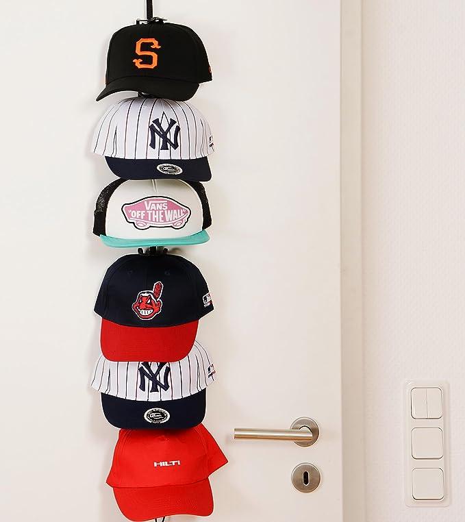 Soporte para gorras planas, Mantiene el orden, para 18 hasta 36 ...