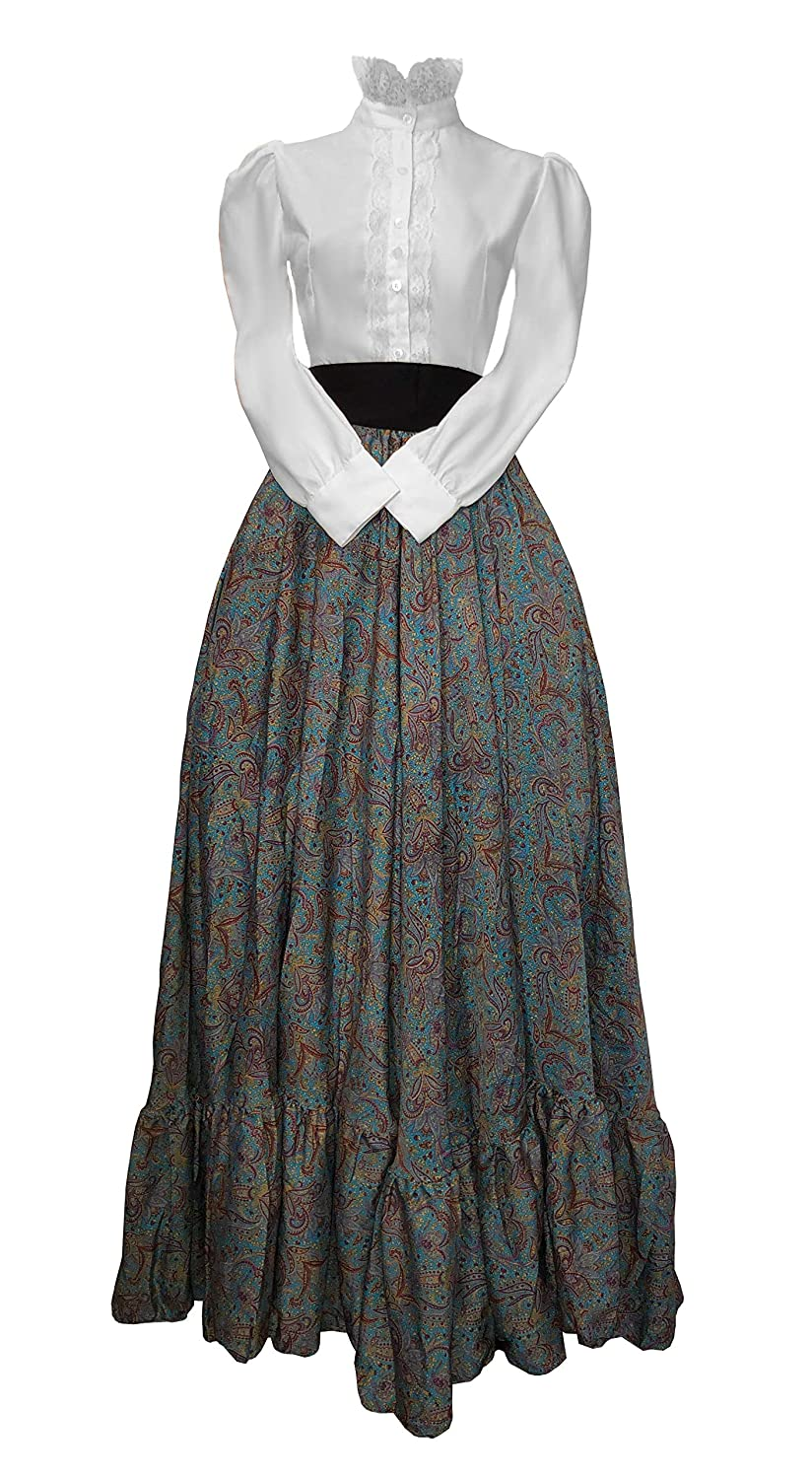 Old Fashioned Dresses | Old Dress Styles Civil War Era Victorian 3 pc Costume $69.99 AT vintagedancer.com