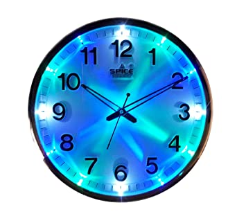 Buy pke SPICE LED Wall Clock Online at Low Prices in India