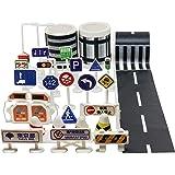 日本の道路標識(タイプA)+道路・線路マスキングテープ