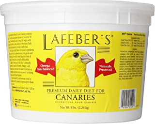 product image for LAFEBER'S Premium Daily Diet or Gourmet Fruit Pellets Pet Bird Food, Made with Non-GMO and Human-Grade Ingredients, for Canaries