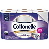 Cottonelle Ultra ComfortCare Toilet Paper, 12 Double Rolls, Strong & Soft Bath Tissue