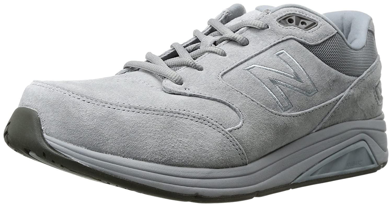 New Balance Men's Mens 928v3 Walking Shoe Walking Shoe 15 4E US|Grey/White