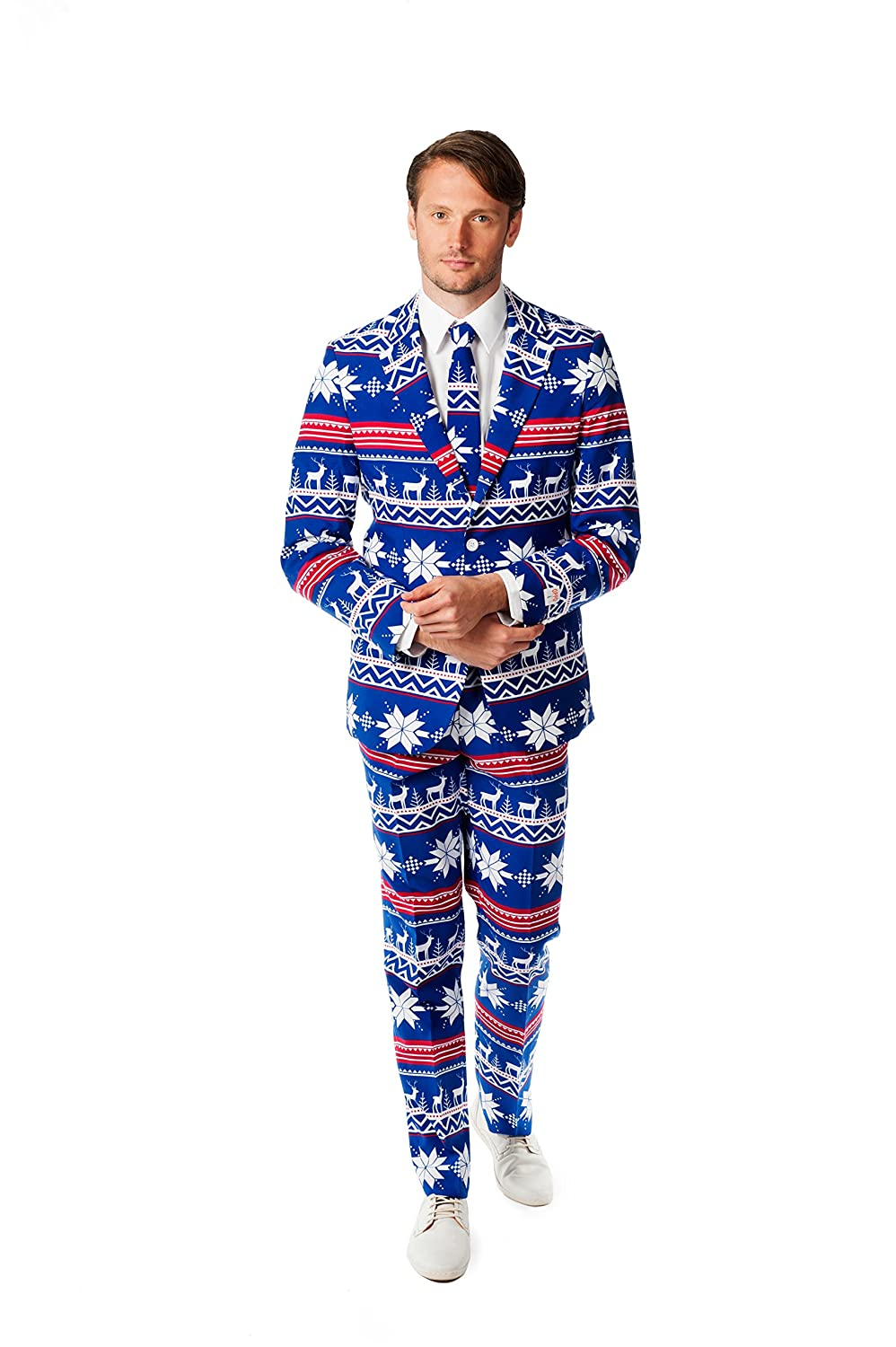 OppoSuits Men's Christmaster Party Costume Suit OSUI-0020