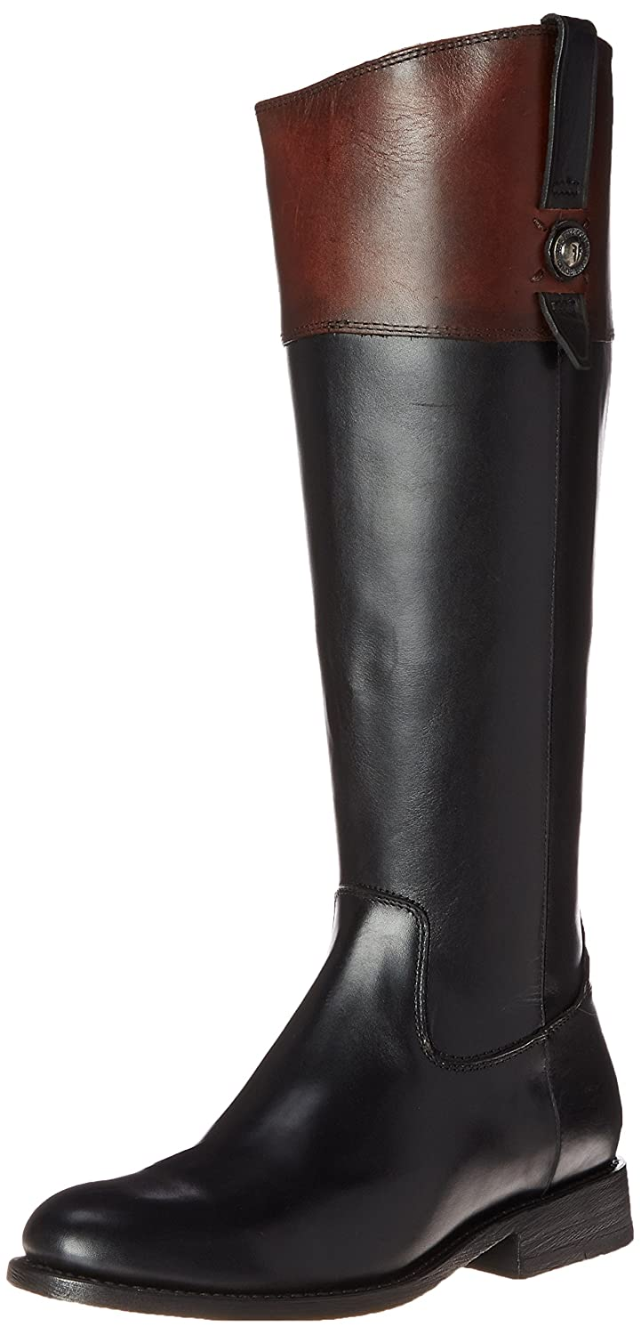 FRYE Women's Jayden Button Tall-SMVLE Riding Boot B00R550AOY 9.5 B(M) US|Black/Multi-76095