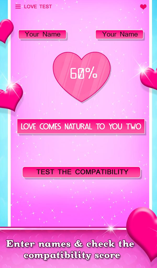 Test love The Love