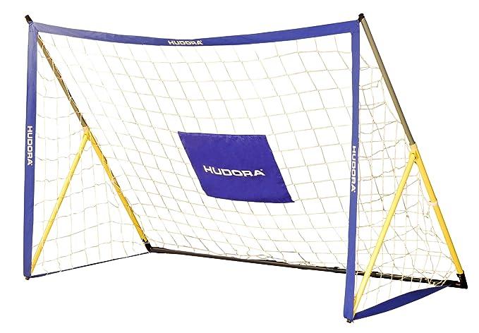 8 opinioni per Hudora, Porta da Calcio Pieghevole 180 x 120 x 90 cm 32 mm, Multicolore (Blau