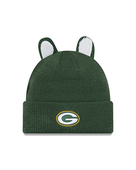 promo code efb6f 6e43e Image Unavailable. Image not available for. Color  New Era Green Bay  Packers Cozy Cutie Youth Knit Hat