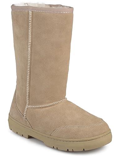 cffaebebf19 Brumby Women s Sheepskin Shearling Boots Natural 10