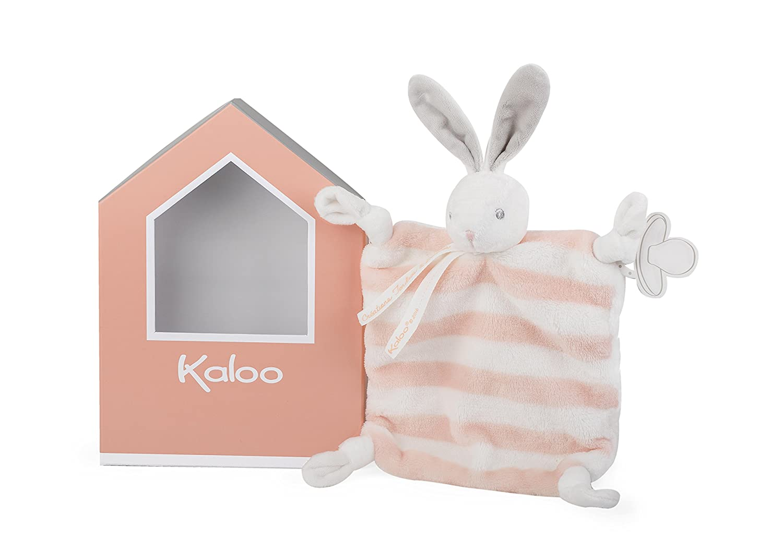 Kaloo Bébé Pastel - Doudou Coniglietto 20 cm, Azzurro e Crema, K960088 Juratoys IT