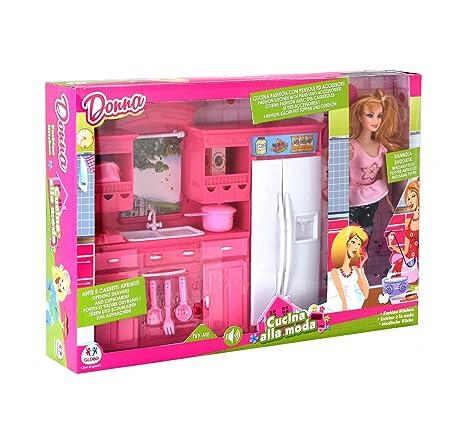 Barbie Con Cucina: Amazon.it: Giochi e giocattoli