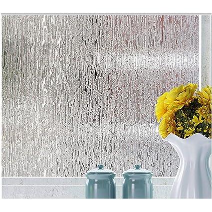 Amazon.com: Rain Glass Window Film Static Cling Opaque Glass Sticker Home Decor (Clear Two): Home & Kitchen