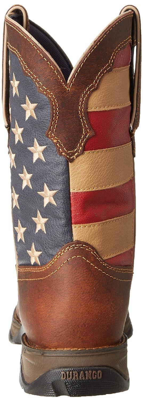 Durango Lady Rebel 10 Inch Flag RD4414 Western Boot B006MX5AEU 6 B(M) US|Brown/Union Flag