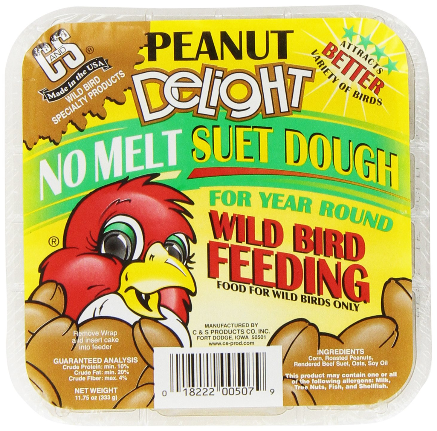 C & S Products Peanut Delight, Pack Of 12 (11.75 Oz Each) by C & S Products