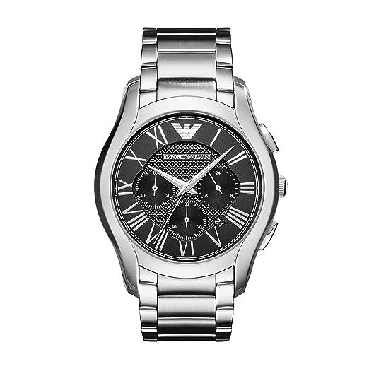 Emporio Armani Reloj Cronógrafo para Hombre de Cuarzo con Correa en Acero Inoxidable AR11083: Amazon.es: Relojes