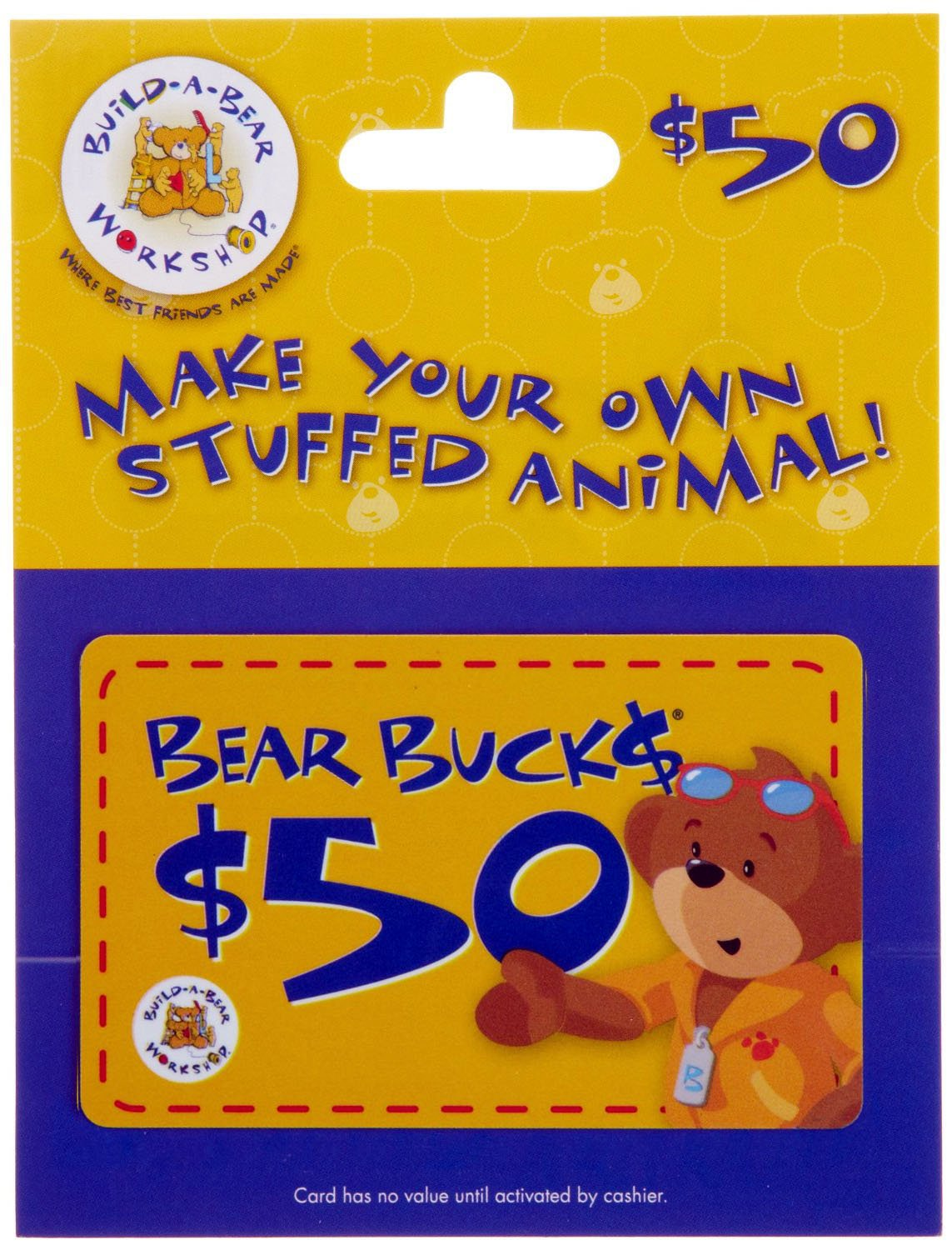 Amazon build a bear gift card 25 gift cards 1betcityfo Gallery